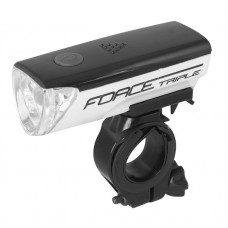 Far fata Force Triple 3 Led alb