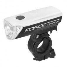 Far fata Force Triple 3 Led negru/alb