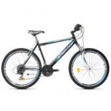 """Bicicleta Robike Cougar 26"""" negru/albastru/alb 2016"""
