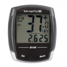 BIKE COMPUTER WIRELESS M-WAVE ,,M 14 W""