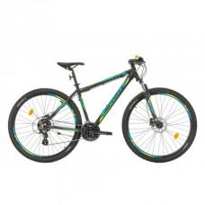 Bicicleta Sprint Maverick 29 HDB negru/albastru 2017-430 mm