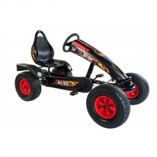 KART CU PEDALE DINO CARS HOT ROD