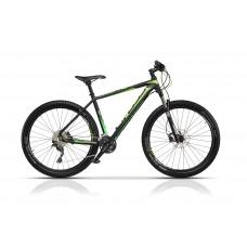 """Bicicleta Cross Euphoria 27.5"""" Negru/Verde 2017"""