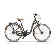 "Bicicleta Cross Riviera 28"" Verde sau Visiniu - 2017"