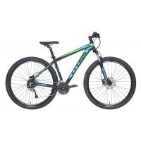 "Bicicleta Cross Grx 827 29"" Negru/Albastru/Verde 2017"