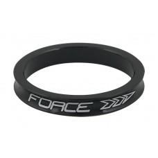 "Distantier furca Force 1.1/8"" 5 mm al. negru"